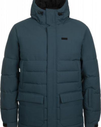 Пуховая синяя куртка мембранная Termit