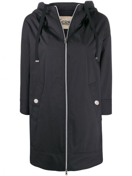 Пальто с капюшоном на молнии пальто Herno