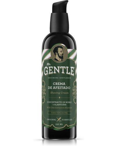 Кожаный крем для бритья увлажняющий Mr. Gentle