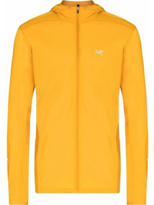 Куртка с капюшоном - желтая Arcteryx
