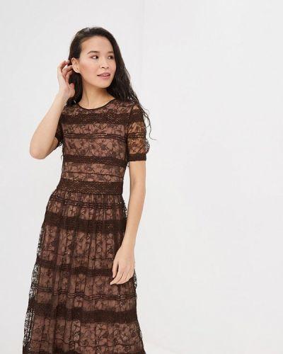 Вечернее платье осеннее Арт-Деко