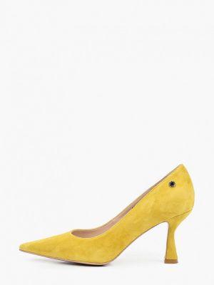 Зеленые туфли-лодочки Tuffoni