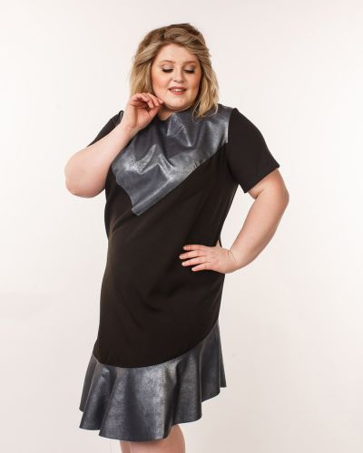 Платье со вставками платье-сарафан Jetti-plus