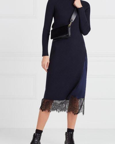 Платье миди облегающее платье-комбинация Mo&co