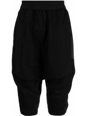 Czarne szorty bawełniane Julius