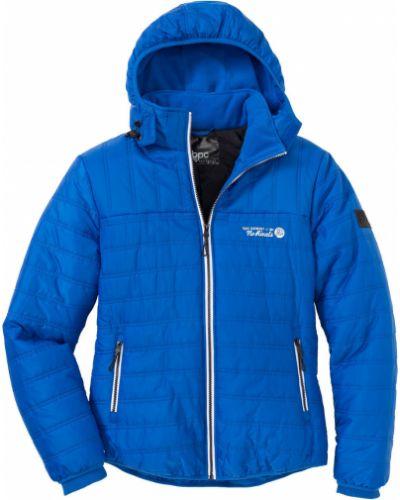 Куртка синяя с подкладкой Bonprix