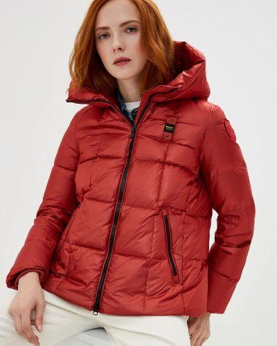 Зимняя куртка осенняя красная Blauer