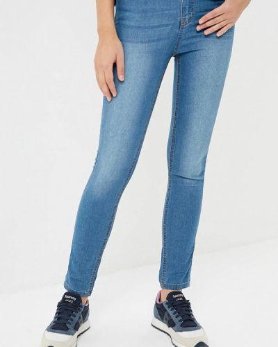 Синие джинсы-скинни Befree