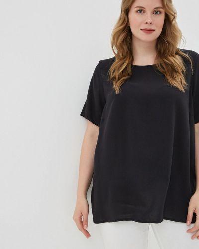 Блузка черная Rosa Thea