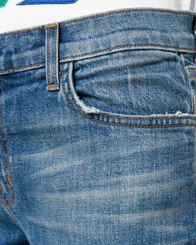 Джинсы классические слим фит с карманами J Brand
