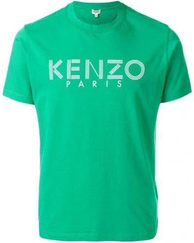 Хлопковая футболка с логотипом Kenzo