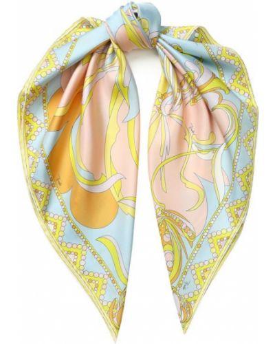 Платок из шелка носовой Emilio Pucci