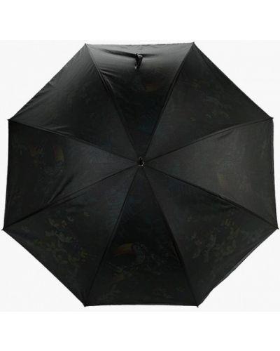 Черный зонт-трость Eleganzza