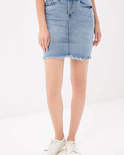 Юбка мини джинсовая Ichi