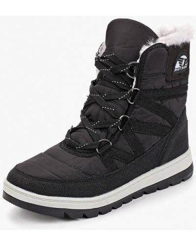 Кожаные ботинки осенние Patrol