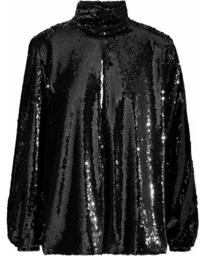 Bluzka zapinane na guziki - czarna Racil