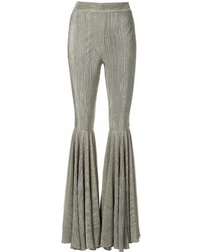 Расклешенные брюки с поясом Dalood