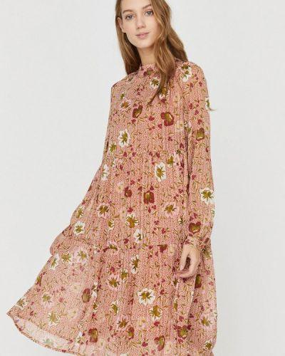 Прямое розовое платье Vero Moda