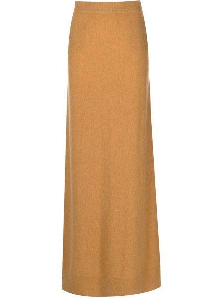 Pomarańczowa spódnica z wysokim stanem Altuzarra