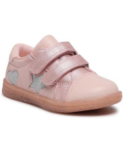 Różowe sneakersy Nelli Blu