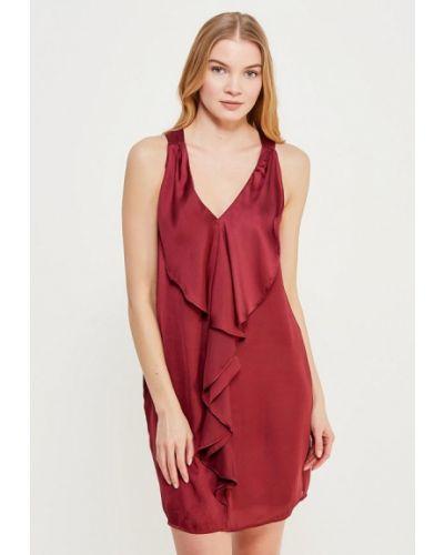 Платье бордовый красный Sack's