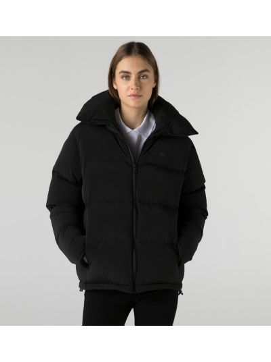 Серая куртка из полиамида Lacoste