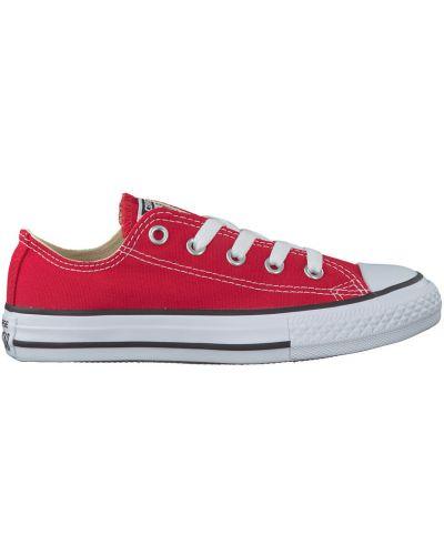 Czerwone trampki niskie Converse