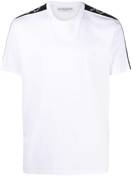 Biały bawełna koszula krótkie rękawy Givenchy