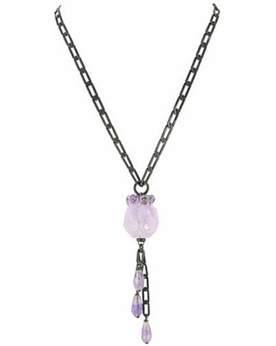 Ожерелье фиолетовый Nature Bijoux