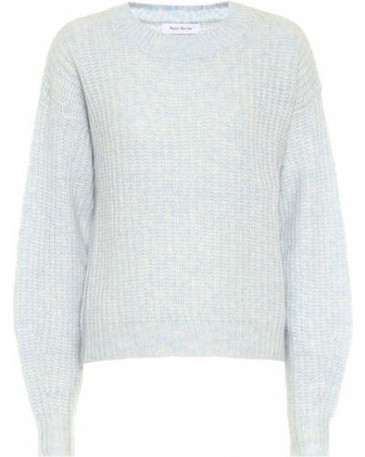 Мягкий кашемировый синий свитер Ryan Roche