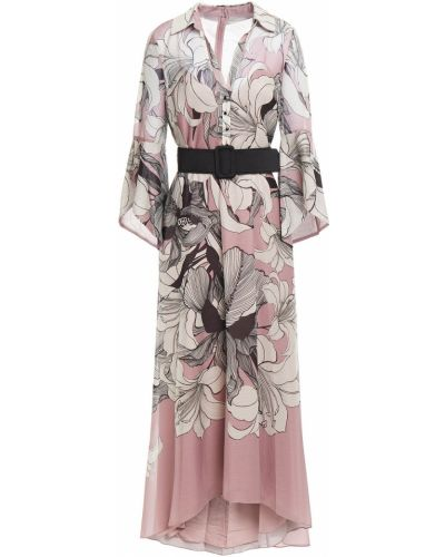 Sukienka z printem Badgley Mischka