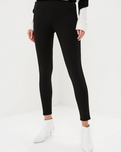 Черные брюки повседневные Bruebeck