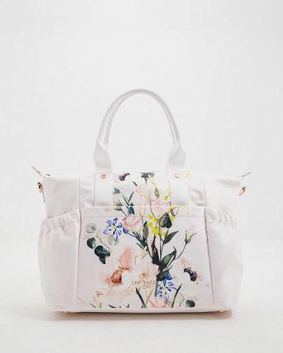 Дорожная сумка розовый весенний Ted Baker London