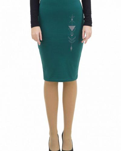 Зеленая юбка узкого кроя Doctor E