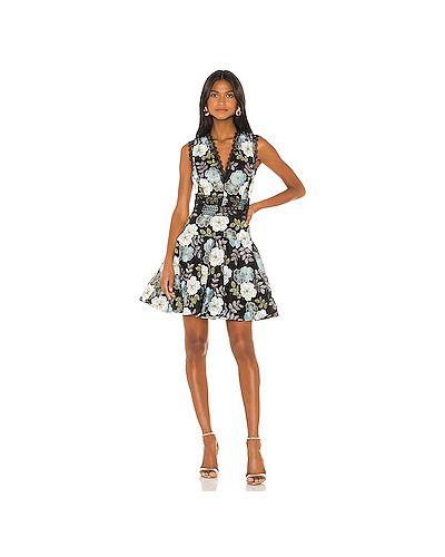 Платье мини из фатина с вышивкой Bronx And Banco