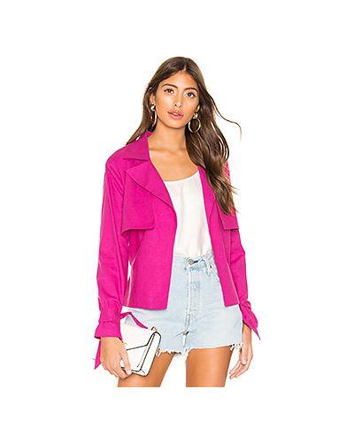 Куртка розовая парусиновая Lovers + Friends