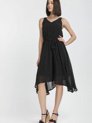 Платье - черное Gloss