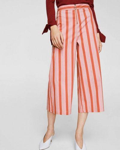 Розовые брюки Mango