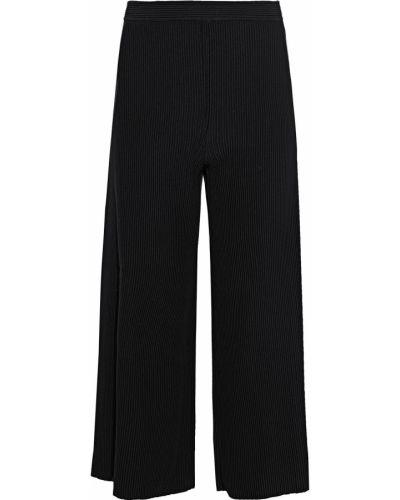 Черные укороченные брюки Theory