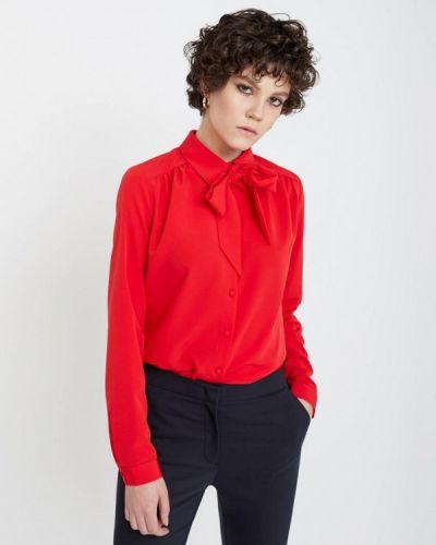 Блузка с длинным рукавом весенний красная Lime