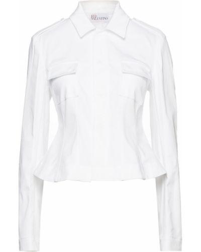 Хлопковая куртка - белая Redvalentino