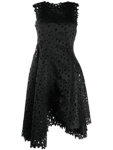 Асимметричное платье без рукавов с вырезом на молнии Paskal