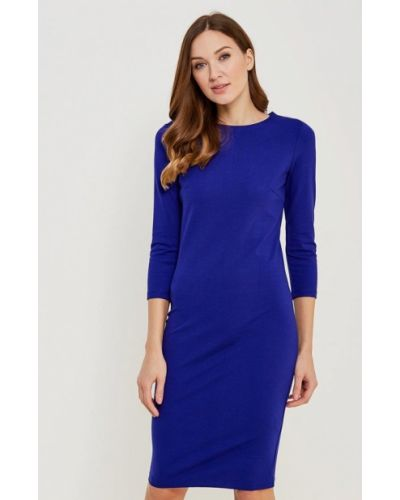 Платье осеннее синее Incity