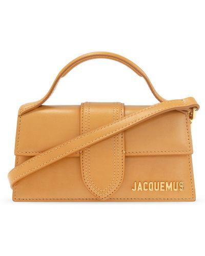 Beżowa torba na ramię Jacquemus