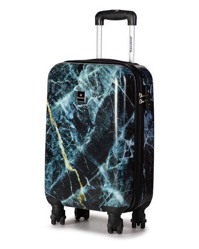 Czarna walizka Saxoline