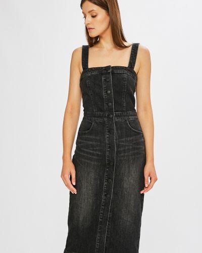 Джинсовое платье мини с карманами Miss Sixty