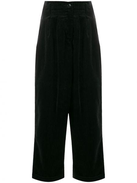 Свободные брюки вельветовые с поясом Ymc