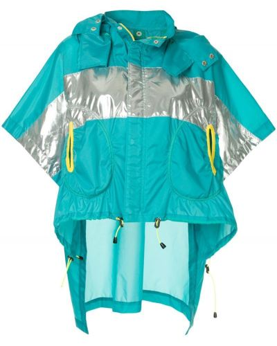 Синяя короткая куртка Kolor