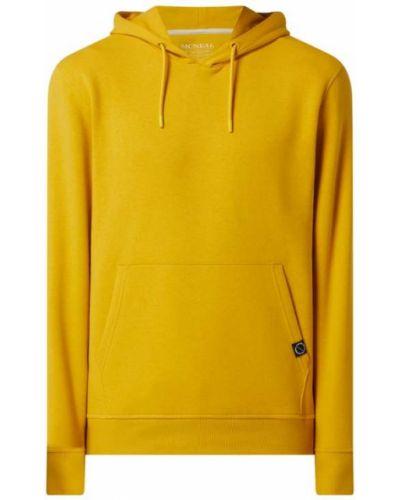 Żółta bluza z kapturem Mcneal