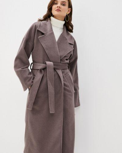 Коричневое пальто Y.o.u.